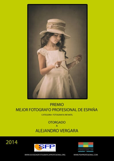 Premio al mejor fotógrafo profesional de España en 2017 a Alejandro Vergara, fundador de Imprimir Fotos Granada, una web para revelar fotos online baratas y de calidad