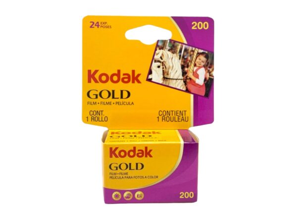 CARRETE KODAK GOLD DE 24 EXPOSICIONES  ISO 200