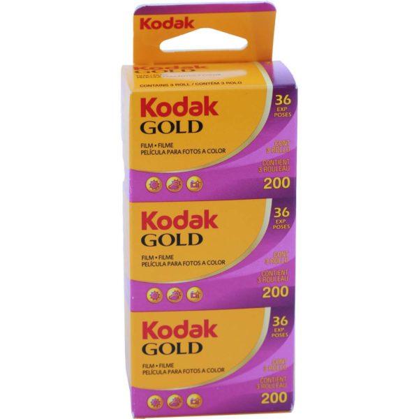 CARRETE KODAK GOLD TRIPACK 36 200 ISO