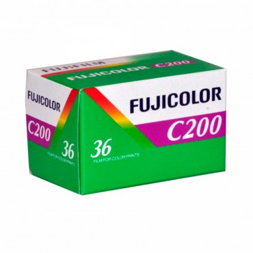 CARRETE FUJIFILM 36 EXP. ISO 200
