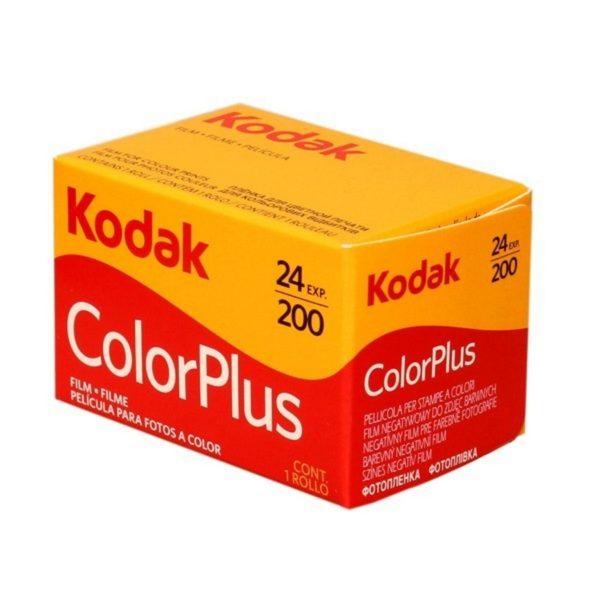 CARRETE KODAK Colorplus 24 EXP. ISO 200