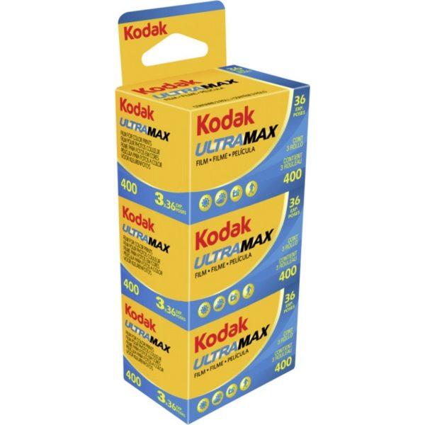CARRETES TRIPACK KODAK ULTRAMAX 36 EXP. ISO 400