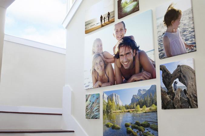 Decora tu casa con tus fotos familiares